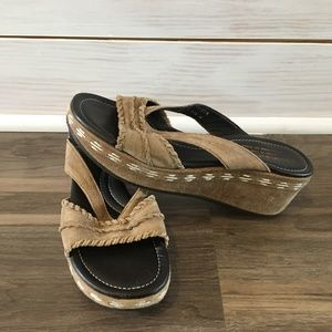 Donald J Pliner System Wedge Sandals